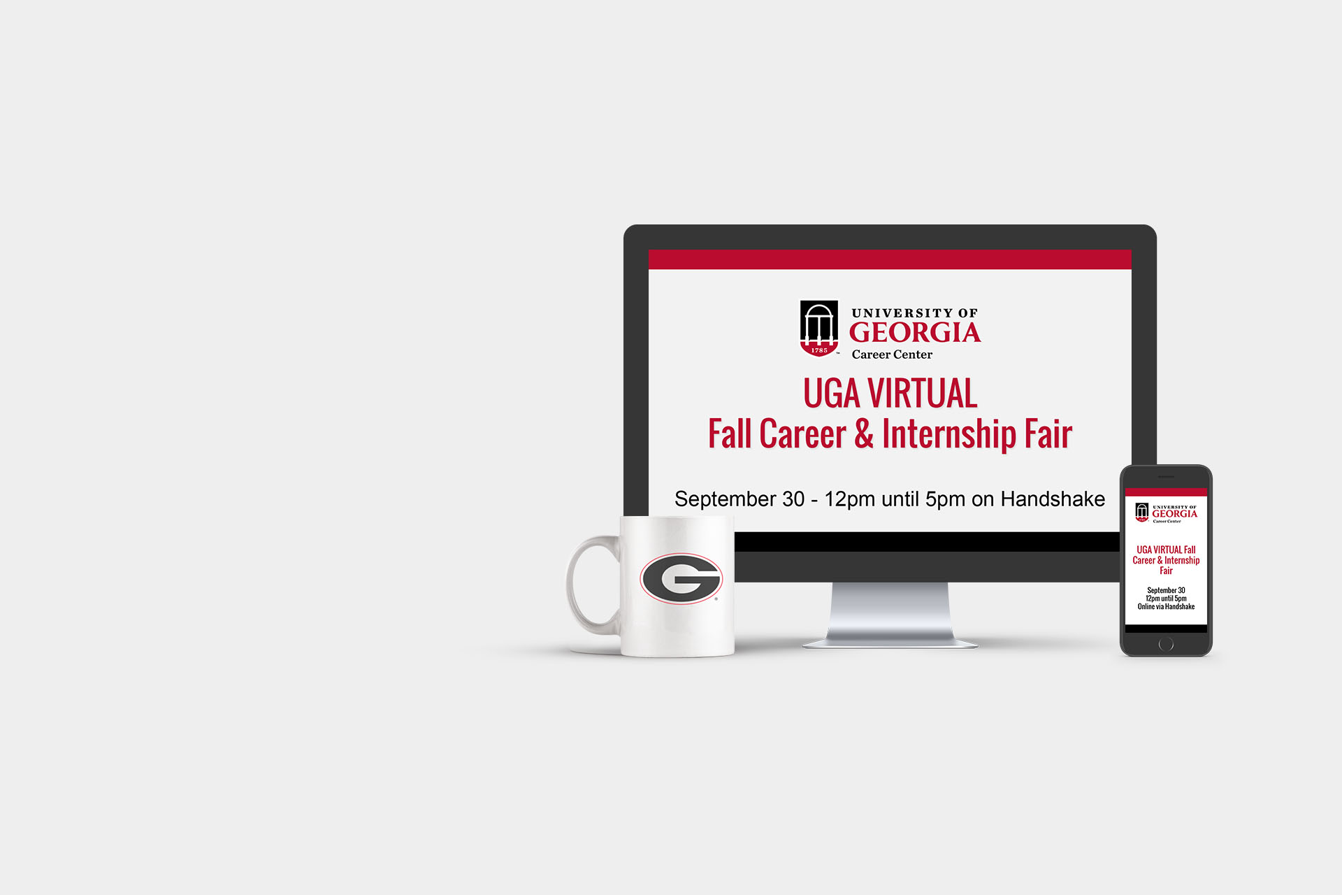UGA VIRTUAL Fall Career & Internship Fair - September 30 from 12pm until 5pm online via Handshake