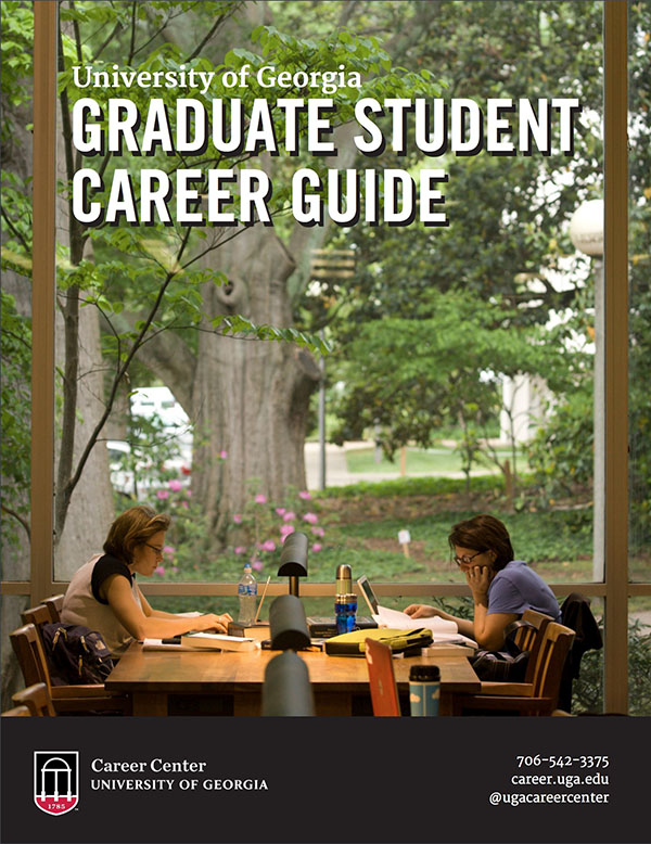 UGA Graduate Student Career Guide cover