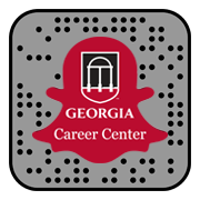 UGA Career Center Snapchat snapcode