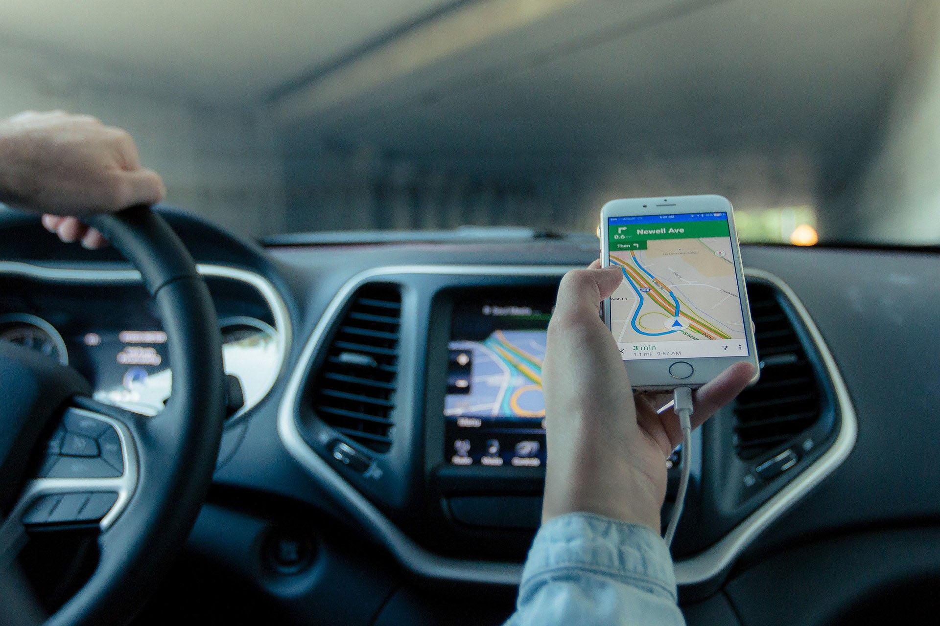 Smart phone navigation system
