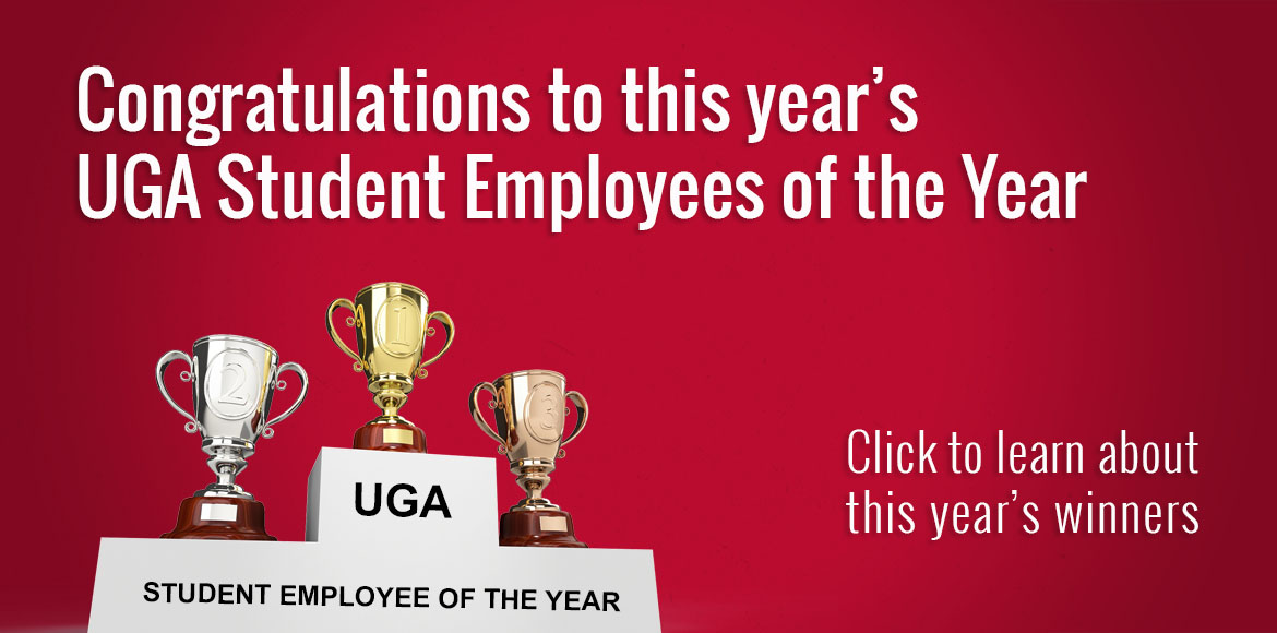 2020 Student Employee of the Year Awards