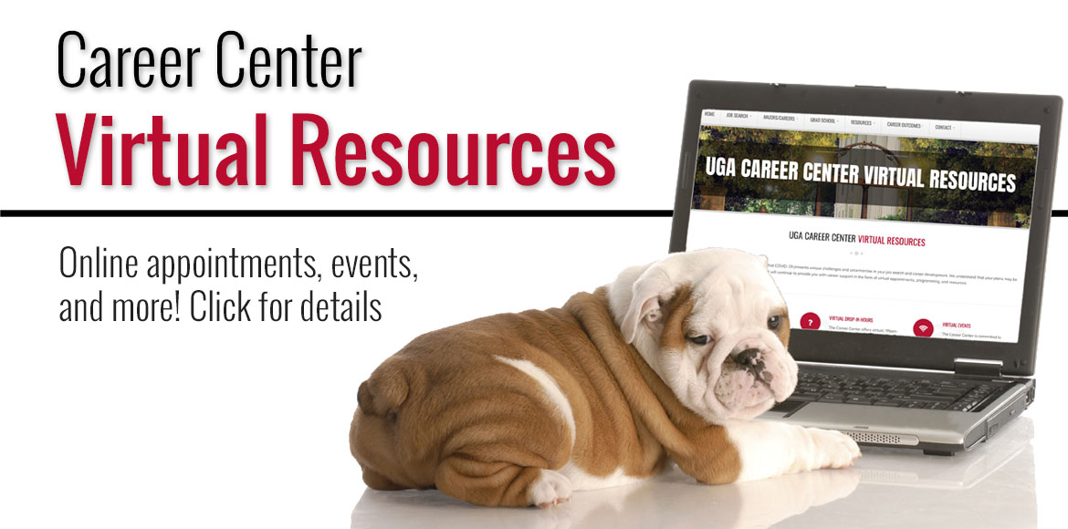 UGA Career Center virtual resources
