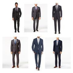 Business professional male clothing