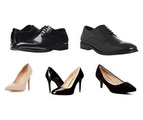 Business professional shoes