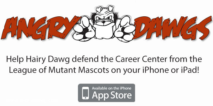 Angry Dawgs - presented by the UGA Career Center