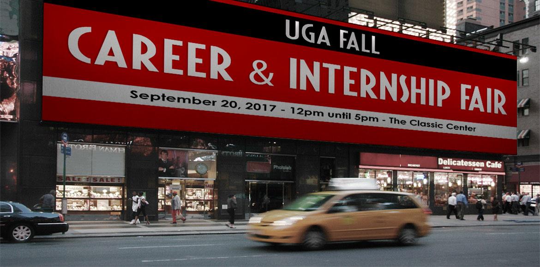 UGA FALL CAREER AND INTERNSHIP FAIR