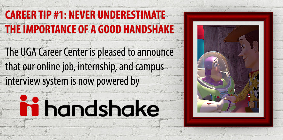 Never underestimate the value of a good handshake