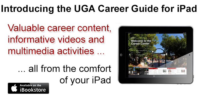 UGA Career Guide for iPad
