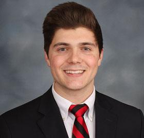 Student Employee of the Year - team award winner - Matthew Corn